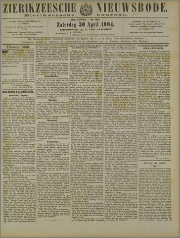 Zierikzeesche Nieuwsbode 1904-04-30