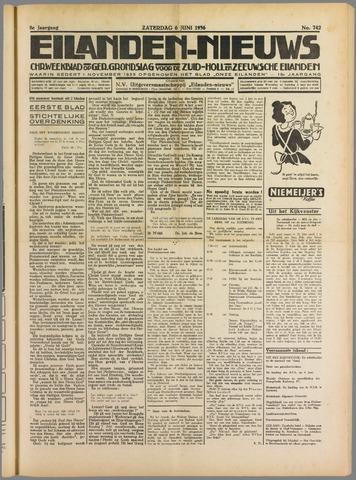 Eilanden-nieuws. Christelijk streekblad op gereformeerde grondslag 1936-06-06