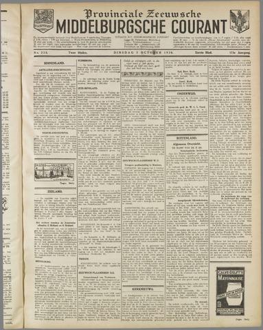 Middelburgsche Courant 1930-10-07