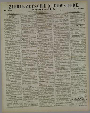 Zierikzeesche Nieuwsbode 1885-06-09