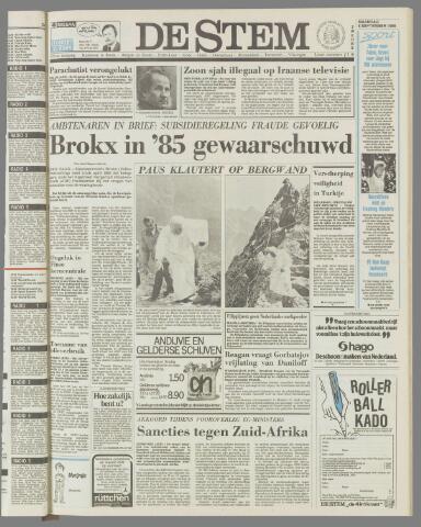 de Stem 1986-09-08