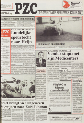 Provinciale Zeeuwse Courant 1988-01-14