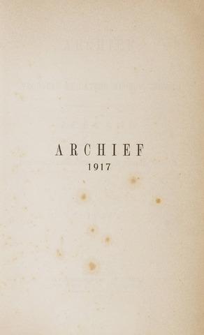 Archief 1917-01-01