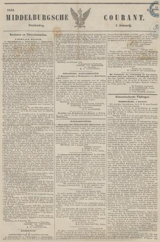 Middelburgsche Courant 1852-01-08