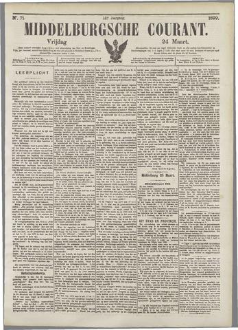 Middelburgsche Courant 1899-03-24