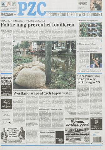 Provinciale Zeeuwse Courant 2000-11-11
