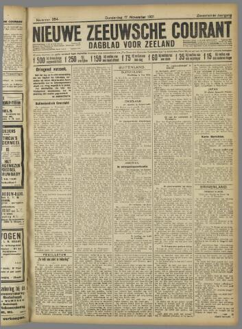Nieuwe Zeeuwsche Courant 1921-11-17