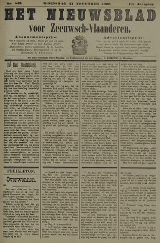 Nieuwsblad voor Zeeuwsch-Vlaanderen 1900-11-21