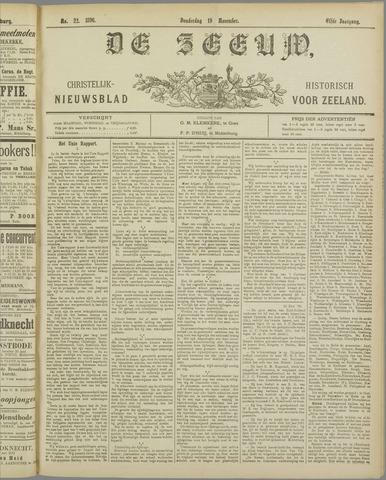 De Zeeuw. Christelijk-historisch nieuwsblad voor Zeeland 1896-11-19