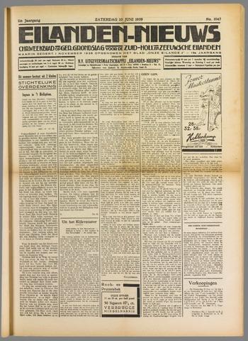 Eilanden-nieuws. Christelijk streekblad op gereformeerde grondslag 1939-06-10