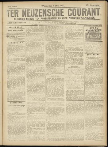 Ter Neuzensche Courant. Algemeen Nieuws- en Advertentieblad voor Zeeuwsch-Vlaanderen / Neuzensche Courant ... (idem) / (Algemeen) nieuws en advertentieblad voor Zeeuwsch-Vlaanderen 1927-05-04