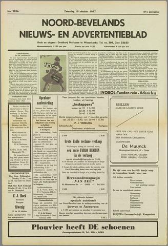 Noord-Bevelands Nieuws- en advertentieblad 1957-10-19