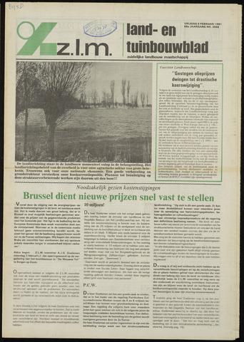 Zeeuwsch landbouwblad ... ZLM land- en tuinbouwblad 1981-02-06