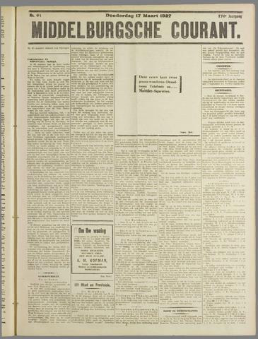 Middelburgsche Courant 1927-03-17
