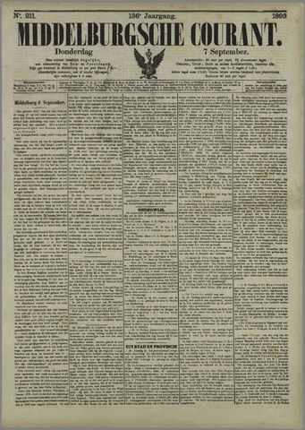 Middelburgsche Courant 1893-09-07