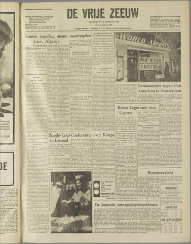 de Vrije Zeeuw 1960-02-11
