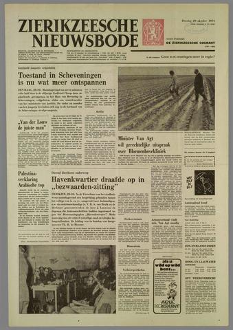 Zierikzeesche Nieuwsbode 1974-10-29