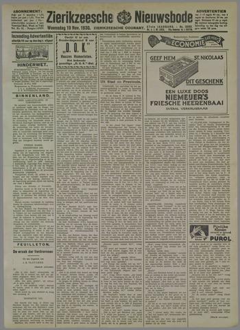 Zierikzeesche Nieuwsbode 1930-11-19