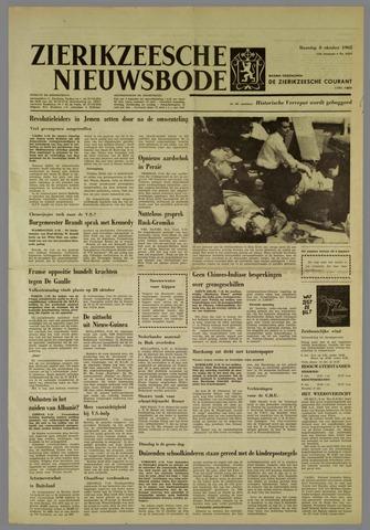 Zierikzeesche Nieuwsbode 1962-10-08