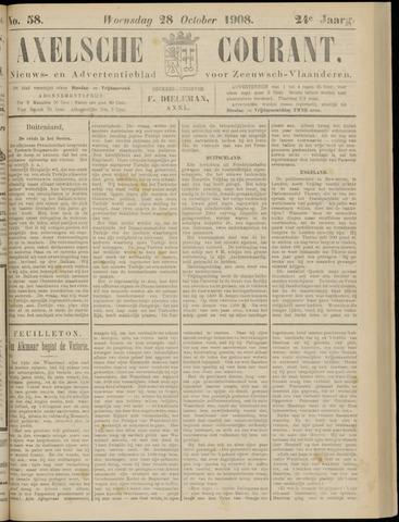 Axelsche Courant 1908-10-28
