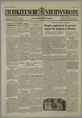 Zierikzeesche Nieuwsbode 1958-02-24