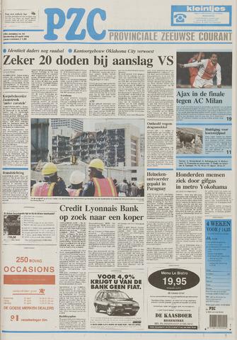 Provinciale Zeeuwse Courant 1995-04-20