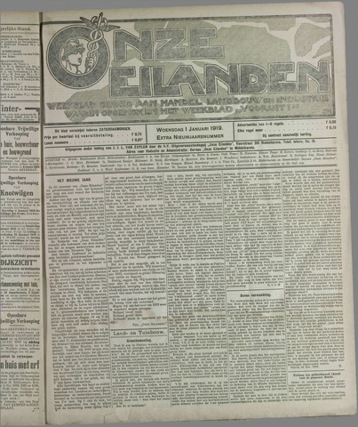 Onze Eilanden 1919