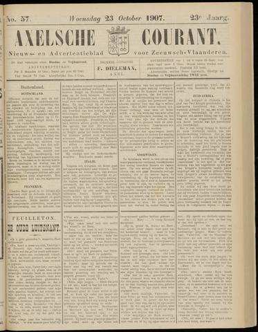 Axelsche Courant 1907-10-23