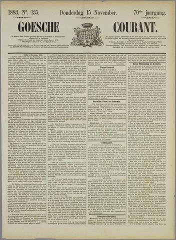 Goessche Courant 1883-11-15