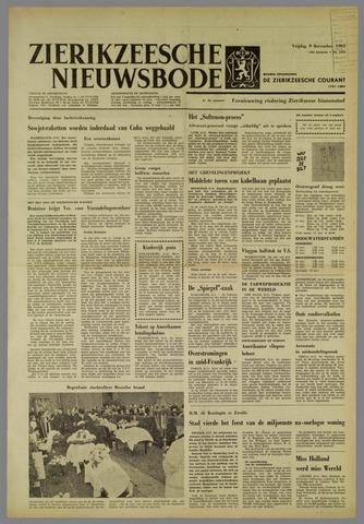 Zierikzeesche Nieuwsbode 1962-11-09