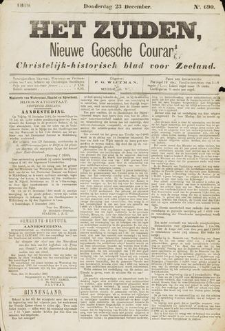 Het Zuiden, Christelijk-historisch blad 1880-12-23