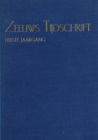 Zeeuws Tijdschrift 1950-01-01
