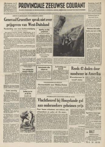 Provinciale Zeeuwse Courant 1956-04-05