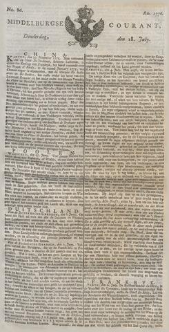 Middelburgsche Courant 1776-07-18