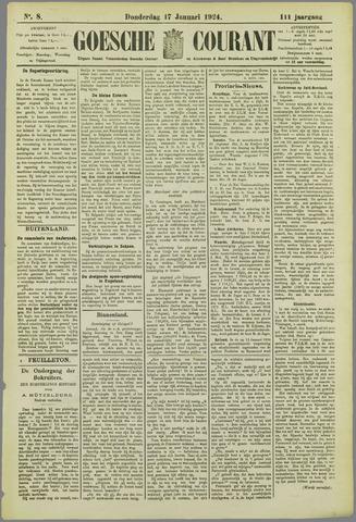 Goessche Courant 1924-01-17