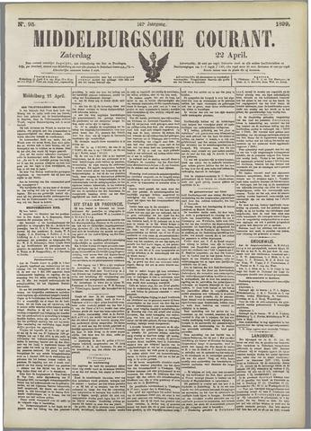 Middelburgsche Courant 1899-04-22
