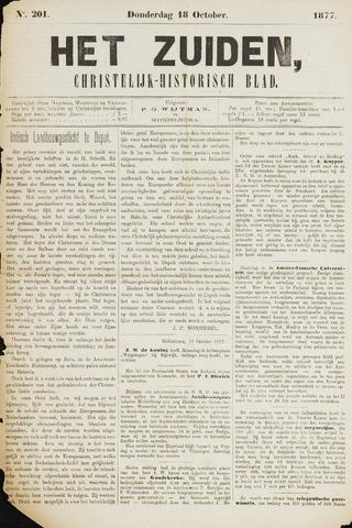Het Zuiden, Christelijk-historisch blad 1877-10-18