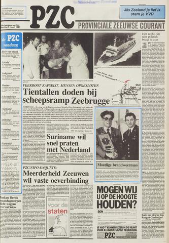 Provinciale Zeeuwse Courant 1987-03-09