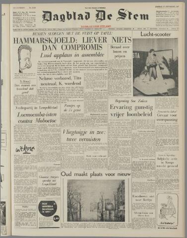 de Stem 1960-09-27