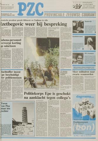 Provinciale Zeeuwse Courant 1993-08-04
