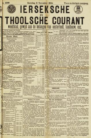 Ierseksche en Thoolsche Courant 1915-11-06