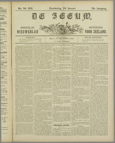 De Zeeuw. Christelijk-historisch nieuwsblad voor Zeeland 1901-01-24