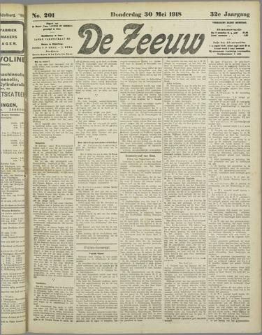 De Zeeuw. Christelijk-historisch nieuwsblad voor Zeeland 1918-05-30