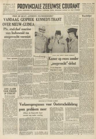 Provinciale Zeeuwse Courant 1962-01-19