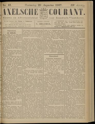 Axelsche Courant 1917-08-29
