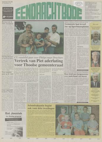 Eendrachtbode (1945-heden)/Mededeelingenblad voor het eiland Tholen (1944/45) 2004-07-22