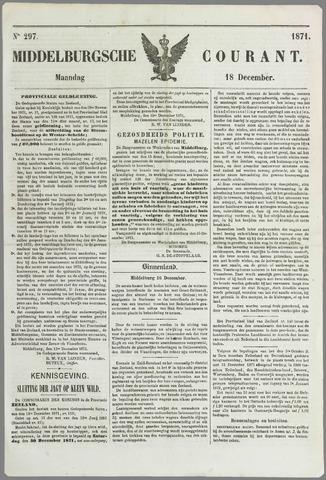 Middelburgsche Courant 1871-12-18