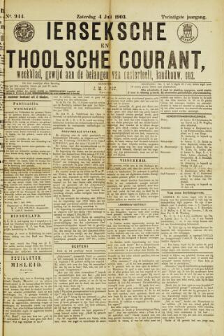 Ierseksche en Thoolsche Courant 1903-07-04