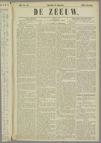 De Zeeuw. Christelijk-historisch nieuwsblad voor Zeeland 1891-08-15