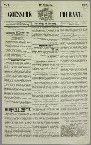 Goessche Courant 1859-01-24